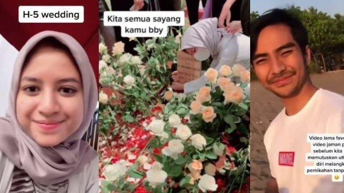 Viral Pernikahan Batal Jelang Akad, Gadis Menangis Pilu di Pembaringan Terakhir Calon Suami