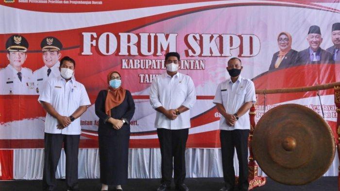 Wakil Bupati Bintan Roby Kurniawan Buka Forum OPD di Bintan Agro Beach Resort