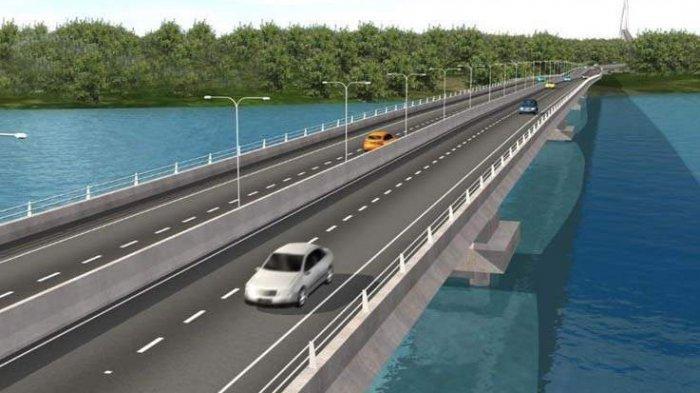 Jembatan  Batam Bintan di Provinsi Kepulauan Riau