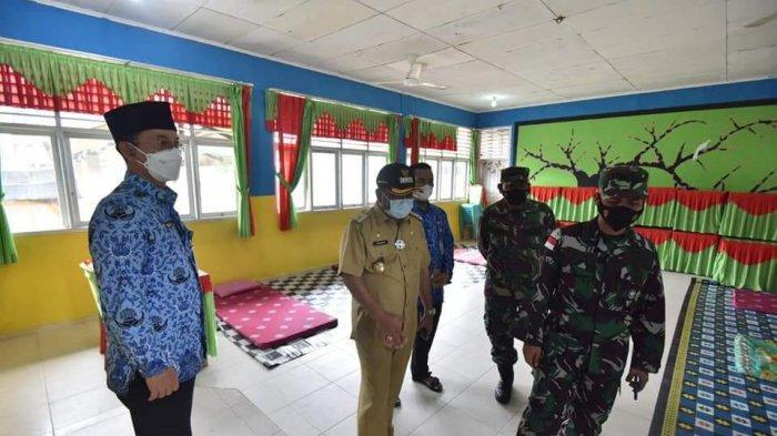 Gedung SMPN 2 Tebing Kembali Diaktifkan Jadi Lokasi Isolasi Terpusat di Karimun