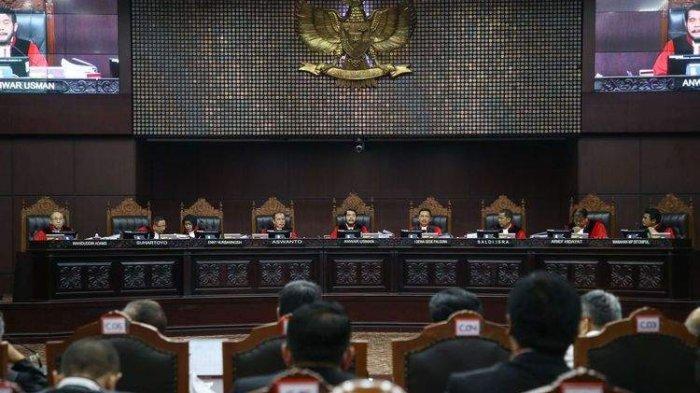 Sidang Sengketa Pilpres, Pertimbangkan Keterangan Seluruh Pihak,MK Janji Cari Kebenaran& Keadilan