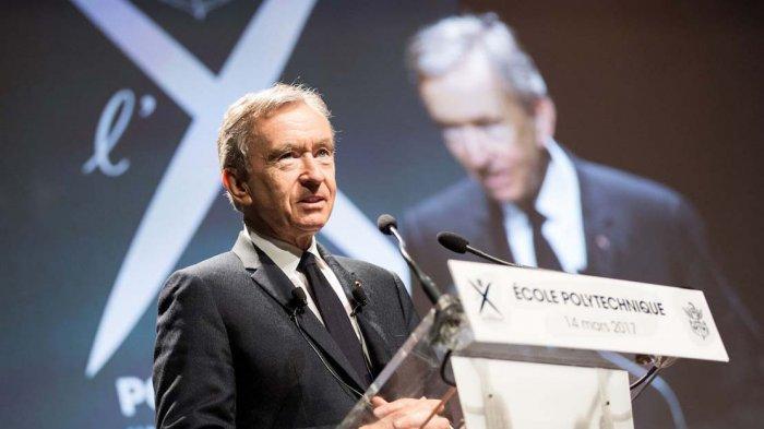 SIMAK Cara Menjadi Kaya ala Orang Paling Tajir Sedunia Bernard Arnault