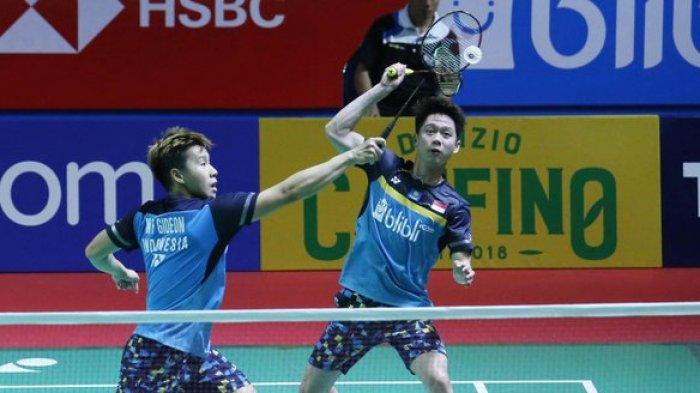 Jadwal & Link Live Streaming Indonesia Open 2019, Ada 13 Wakil Indonesia, Marcus/Kevin Live Trans7