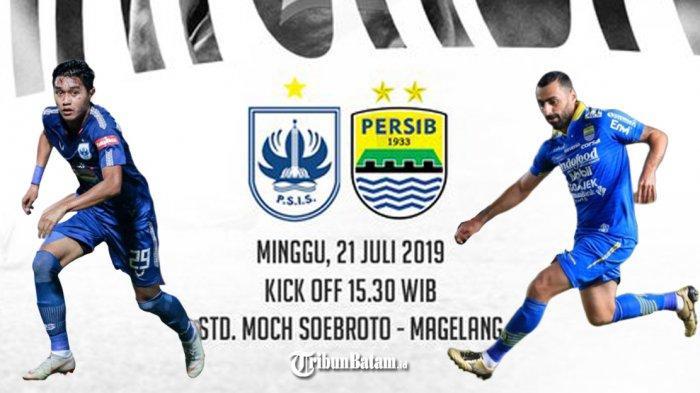 PSIS vs Persib Bandung, Ezchiel-Rene Mihelic Main, Jupe-Malisic Absen, Robert: Saya Tak Suka Ini