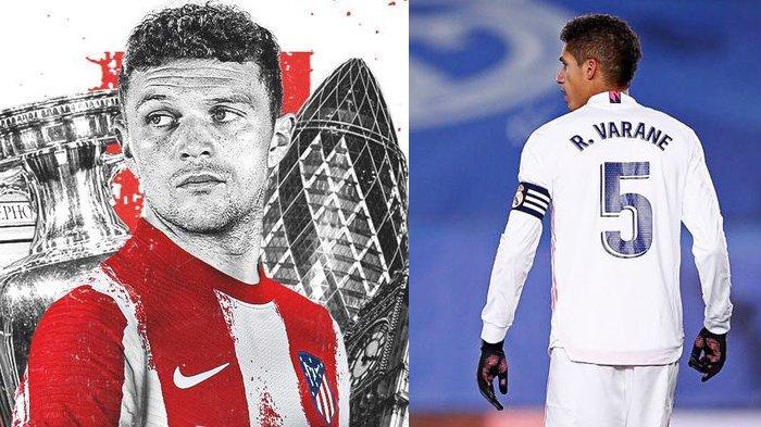 Transfer Man United - Trippier & Varane Makin Dekat ke Old Trafford, Madrid Tawarkan Vinicius Jr