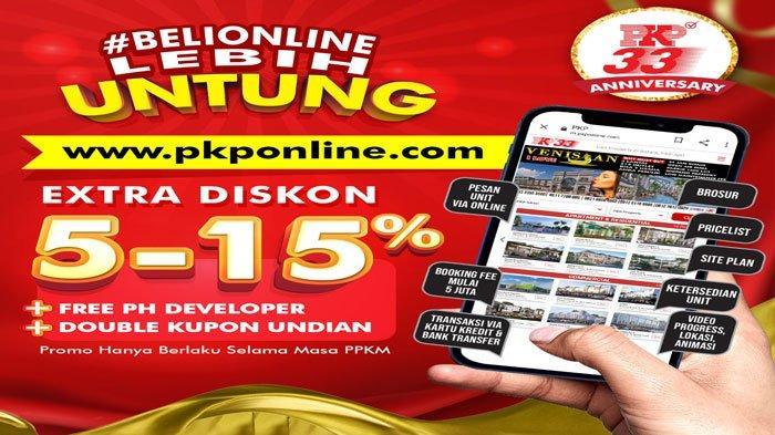 PKP Beri Extra Diskon hingga 15 Persen saat PPKM, Beli Rumah di Batam via Online