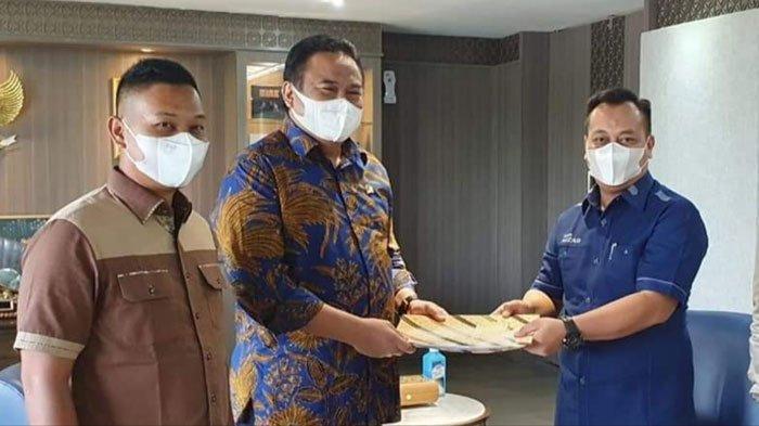 Bupati Lingga 'Jemput Bola', Kejar APBN 2022 Lewat Wakil Ketua DPR Rachmat Gobel