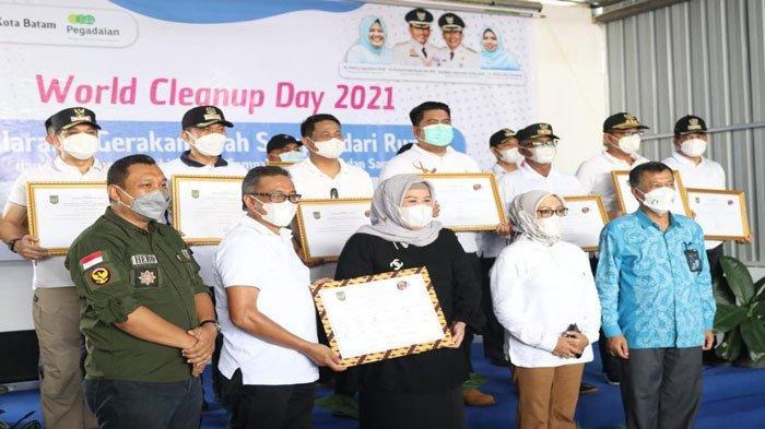 World Cleanup Day 2021, DLH Batam Gelar Gerakan Pilah Sampah