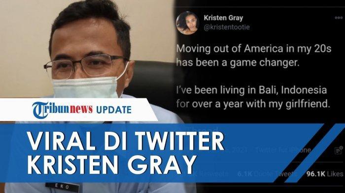 Siapa Kristen Gray? Bule Amerika Ini 'Goncang' Twitter Lewat Cuitannya soal Bali