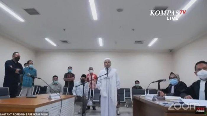 Kuasa Hukum Sebut Rizieq Shihab Didatangi Malam Hari, Diminta Tandatangani Surat Pernyataan