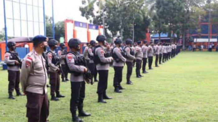 Kanwil DJBC Kepri Dijaga Ketat Aparat, Jelang Kedatangan Massa KKSS Batam