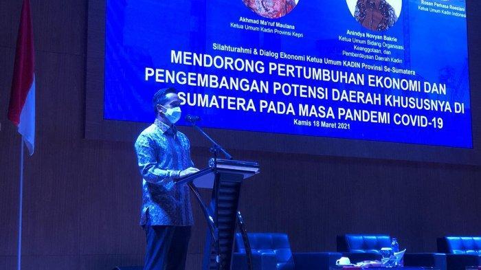 Sejumlah Ketua Kadin se-Sumatera Dukung Anindya Bakrie Pimpin Kadin Indonesia 2021 - 2026