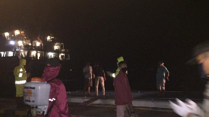 Di Tengah Ancaman Covid-19, 32 Mahasiswa Anambas Nekat Naik Kapal dari Tanjungpinang ke Tarempa