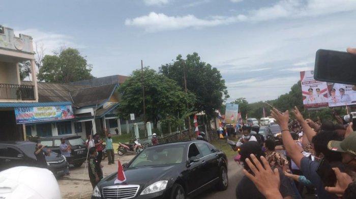 Suasana kedatangan Presiden Jokowi ke Bintan, Rabu (19/5/2021)
