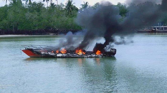 Tiga Staf BPBD Lingga Jadi Korban Insiden Speedboat Terbakar, Ini Identitasnya