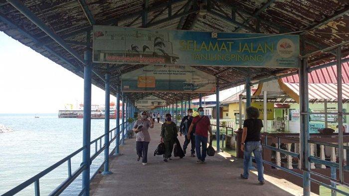JADWAL Kapal Ferry Tanjungpinang di Pelabuhan Sri Bintan Pura Hari Ini Senin 8 Maret 2021