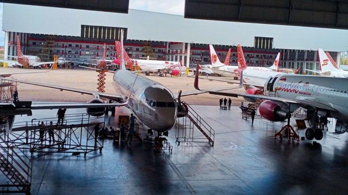 KEK MRO Batam Aero Technic Punya Hanggar Khusus Pengecatan Pesawat Terbang