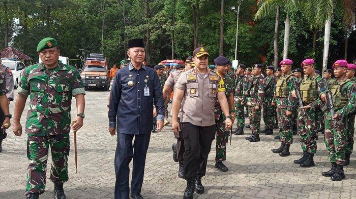 Hadiri Tanam Pohon di Asrama Polisi Tanjungpinang, Ini Pesan Wali kota Tanjungpinang Syahrul