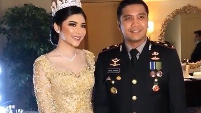 Intip Potret Pernikahan Mewah Selebgram Rica Andriani Kapolsek Fahrul Di Tengah Pandemi Corona Tribun Batam