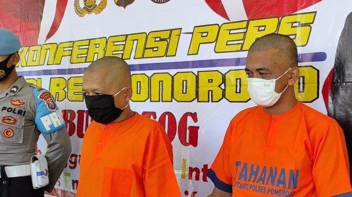 Demi Kebutuhan Lebaran, 2 Pria asal Ponorogo Bobol Rumah Tetangganya