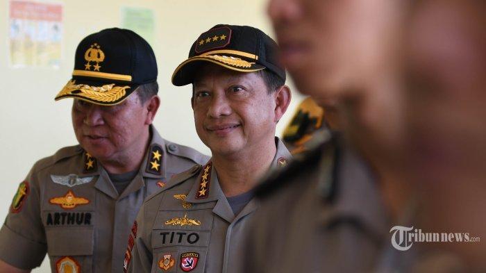 Gantikan Tito Karnavian Jika Jabat Menteri, 4 Jenderal Polisi Ini Berpeluang Jabat Kapolri