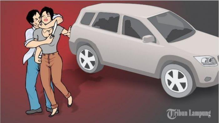 Detik-detik Wanita Banyuasin Diculik di Dalam Mobil, Sempat Kirim Pesan soal Ketakutan