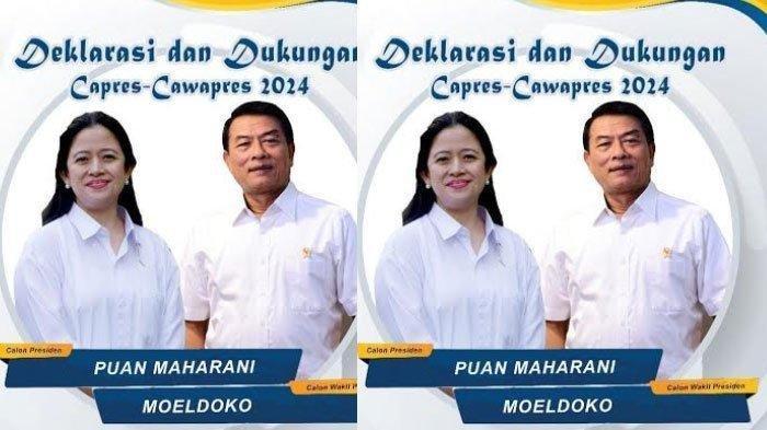 Orang Ini Dinilai Dulang Untung dari Tersebarnya Poster Puan Maharani - Moeldoko Maju Pilpres 2024