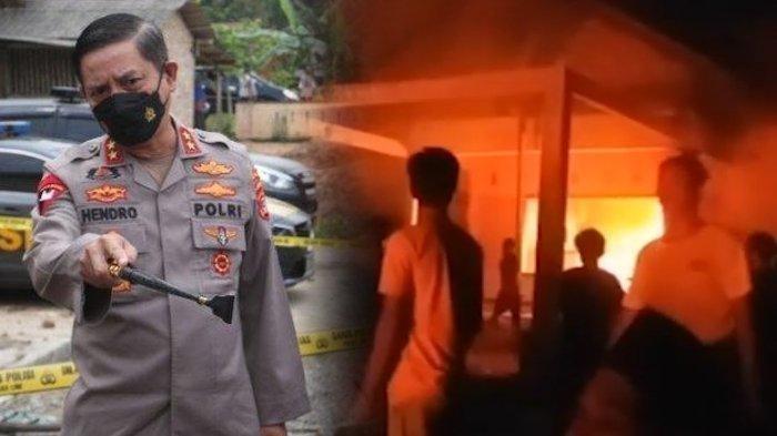 Jenderal Polri Beri Perintah Tegas usai Markas Polisi di Lampung Dibakar Warga