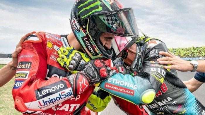 Francesco Bagnaia Sedih Valentino Rossi Akan Pensiun, Enea Bastianin Terharu Dipuji The Doctor