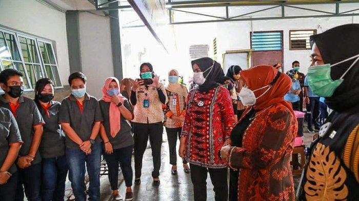 Walikota Tanjungpinang, Rahma Kunjungi Lapas Perempuan Klas II B Batam,