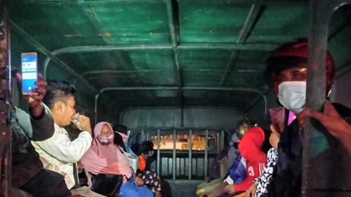 Sejumlah Penyandang Masalah Kesejahteraan Sosial (PMKS) di Batam, termasuk anak jalanan terjaring razia tim patroli Satpol PP Batam bekerja sama dengan Dinsos Batam, Jumat (19/2/2021) malam. Ilustrasi