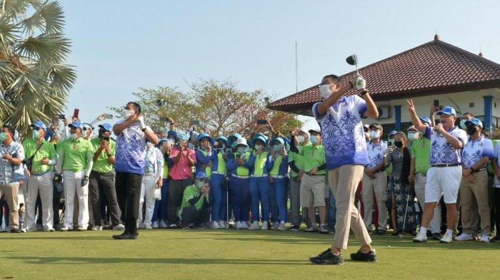 Buka Turnamen Golf Internasional di Tering Bay Batam, Sandiaga Uno: Kepri Luar Biasa
