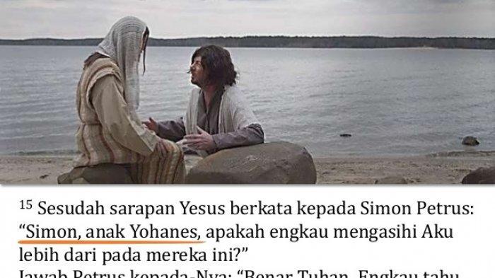 ILUSTRASI - Apakah engkau mengasihi Yesus?