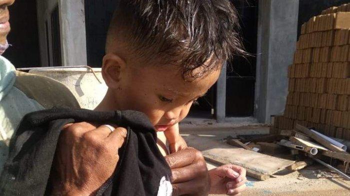 Ar Rasyid Hakim sempat hilang selama lima hari kini sudah ditemukan