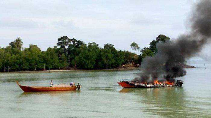 Fakta-fakta di Balik Terbakarnya Speedboat Milik BPBD Lingga, Baru Dari Batam