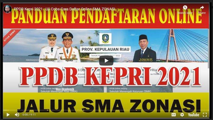 Pendaftaran Peserta Didik Baru (PPDB) untuk SMA/SMK/SLB di Kepulauan Riau (Kepri) dibuka pada 28 Juni 2021