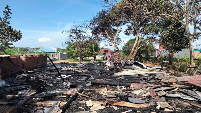 Kebakaran di Tanjungpinang, Rumah dan Dagangan Sabar Tanco Dilalap Si Jago Merah