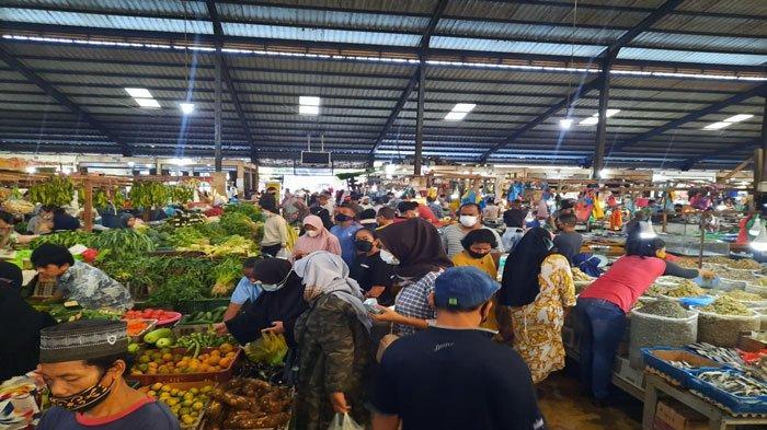 Harga Kebutuhan Pokok di Pasar Bincen Tanjungpinang Normal saat Idul Adha 2021
