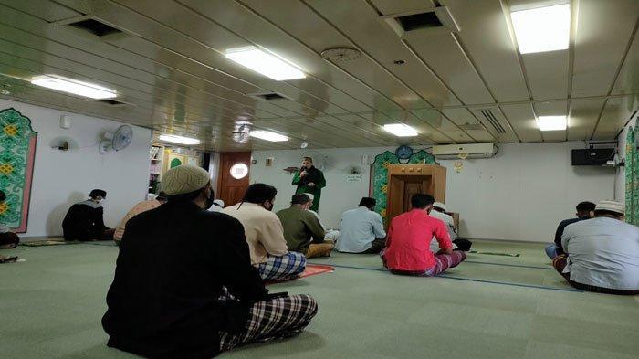 Cerita ABK KM Bukit Raya dan Penumpangnya Rayakan Idul Adha 1442 H di Atas Kapal