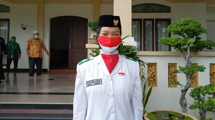 KISAH Putri Nur Azhima, Hingga Terpilih Jadi Pembawa Baki Saat Upacara HUT RI ke 76 di Pemprov Kepri