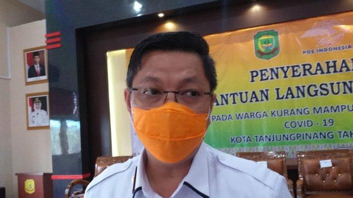 Sekretaris Daerah (Sekda) Kota Tanjungpinang, Teguh Ahmad Syafari.