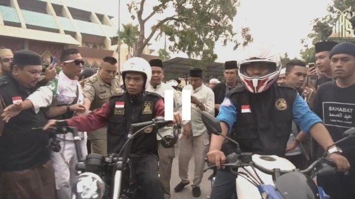Berompi Road to 1000 Jamaah, Ustad Abdul Somad Doakan Bikers Subuhan Batam Tak Hanya Milad I