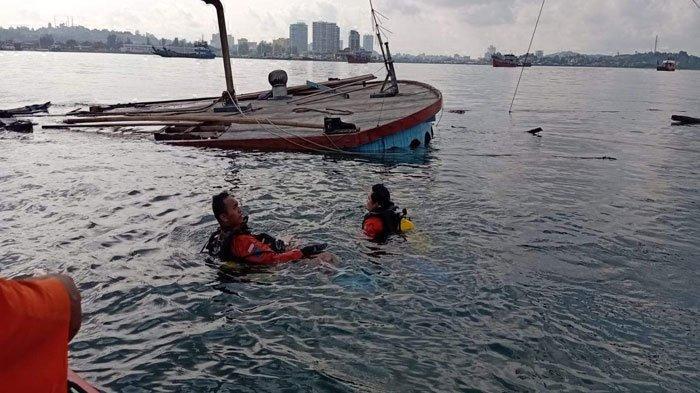 Tim SAR Lanjutkan Pencarian 2 ABK Kapal Tirta Mulya yang Tenggelam di Perairan Batam