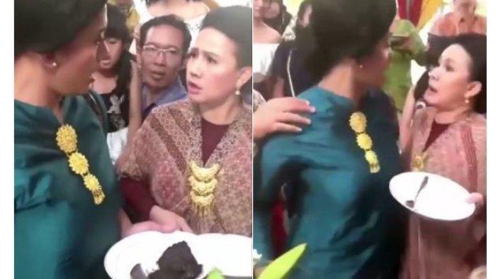 Viral Emak-emak Kaya Rebutan Rendang di Pesta Nikah hingga Hampir Adu Jotos, Ini Faktanya