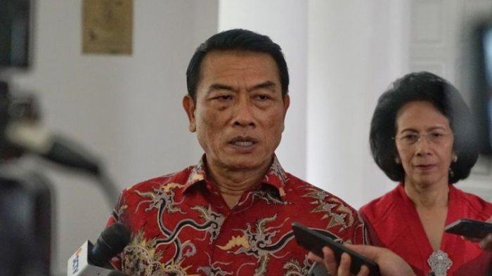 Kepala Staf Kepresidenan Moeldoko saat ditemui di sela-sela acara halalbihalal, di rumah dinas Wakil Presiden Jusuf Kalla, Jalan Diponegoro, Menteng, Jakarta Pusat, Jumat (15/6/2018)