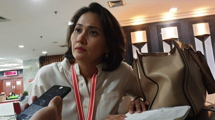 Christina Aryani, Si Cantik Pembela Jokowi-Maruf di Sidang MK, Melenggang ke Senayan