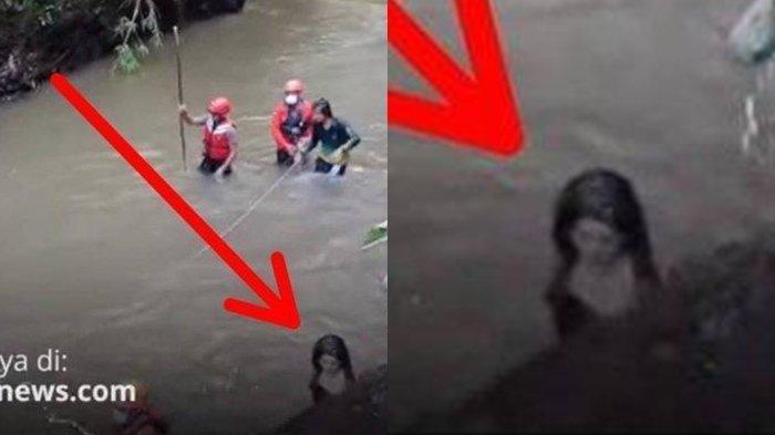 HEBOH Penampakan Wanita Berambut Panjang saat Pencarian Korban di Sungai, Basarnas Bilang Ini