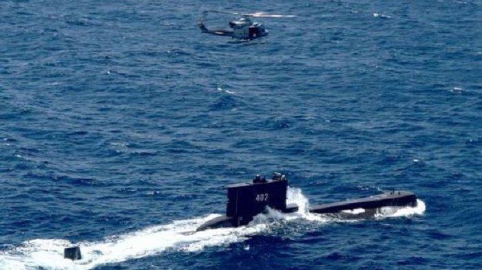 KRI Nanggala 402 hilang kontak di Perairan Bali
