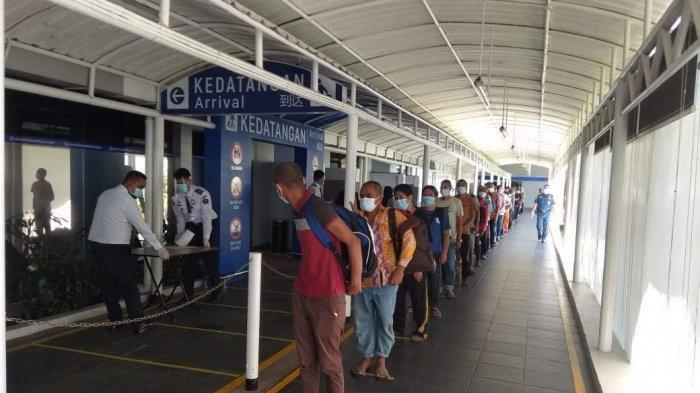 AWAS 200 TKI dari Malaysia Positif Covid-19, 14 Ribu Orang Masuk RI melalui Batam dan Tanjungpinang