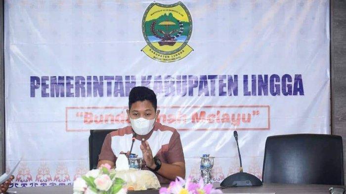 Wabup Lingga Neko Wesha Ikut Rapat Bersama Dinas PMPTSP, Bahas Aduan Masyarakat